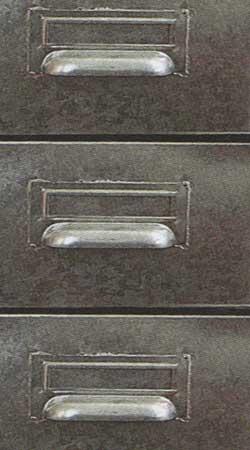 Meuble métalique