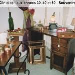 Souvenirs - Clin d'oeil aux années 30,40 et 50