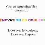 Rénovation en couleurs
