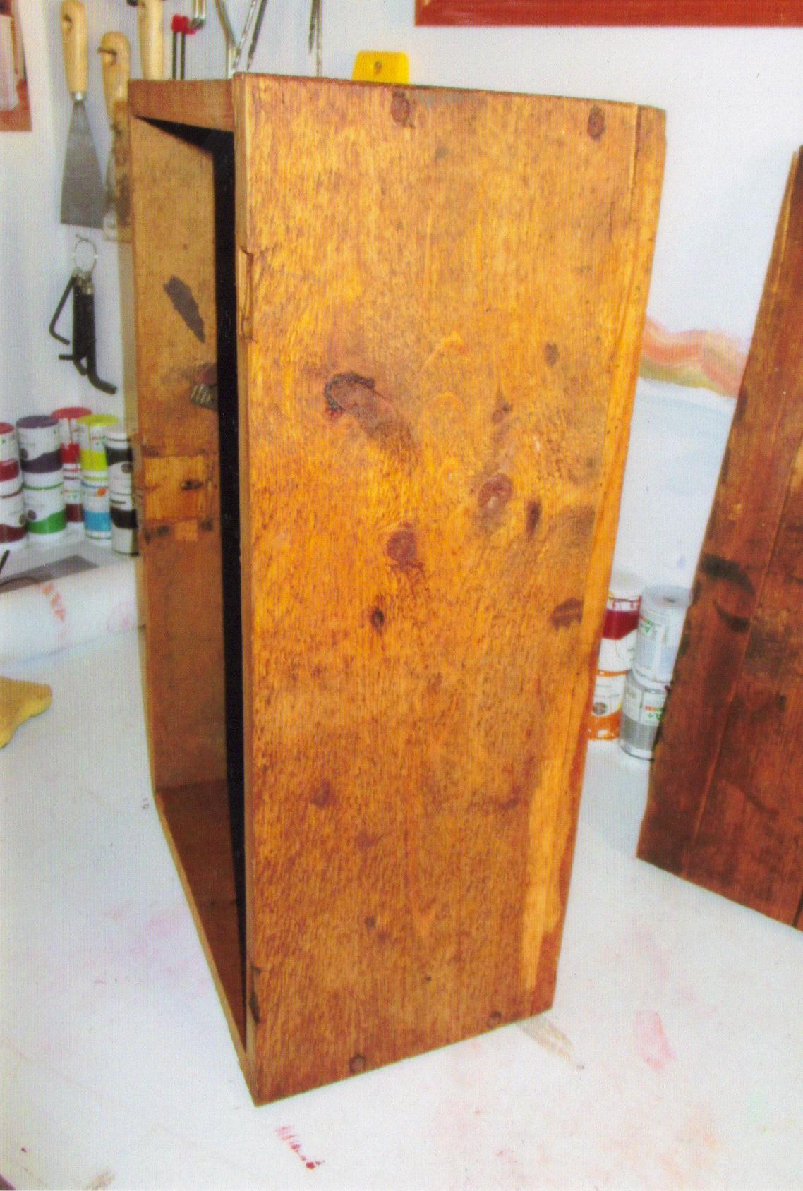 transformer coffre en bois