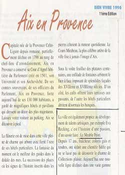 Bien vivre - 1996