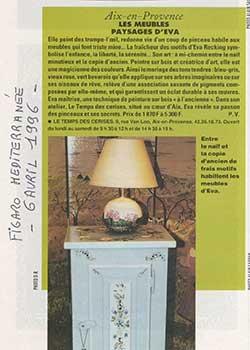 Figaro Méditerranée - 6 Avril 1996