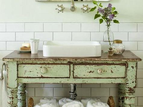 relooking meuble vasque