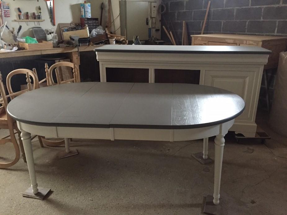 relooker table en bois