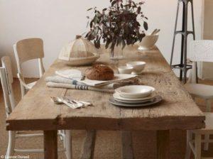 17 best ideas about table en bois brut on pinterest | meuble en  Tables De Salle À Manger En Bois - Faladaninha.com